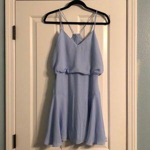 Lulus's Light Blue Skater Dress